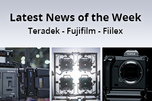 news of the week i50-e131- Teradek - Fujifilm - Fiilex