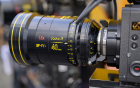 New Cooke Anamorphic FF Prime Lenses Open Day