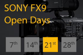 Sony FX9 walk-in event