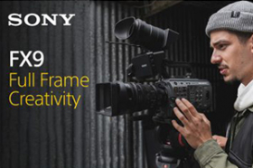 Sony PXW-FX9 Open Day
