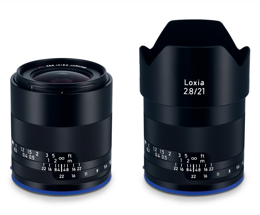 Zeiss Loxia 21/2.8 full frame lens for sony a7s, sony a7rii, sony a7sii