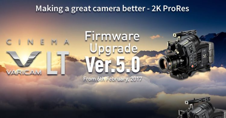 Panasonic Varicam LT Firmware 5 0 Now Available for Download