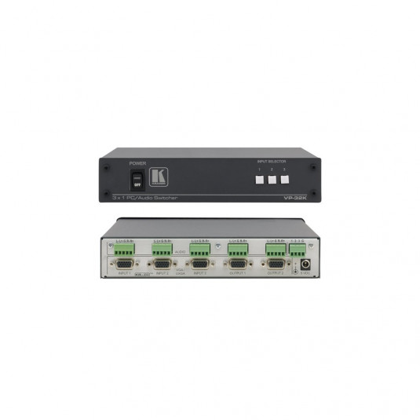 KRAMER VP-32K 3x1 UXGA / Bal St-Audio Switch