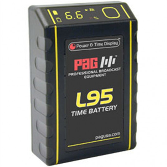 PAG 9360 PAG L95 Time Battery 14.8V 6.5Ah V-Mount