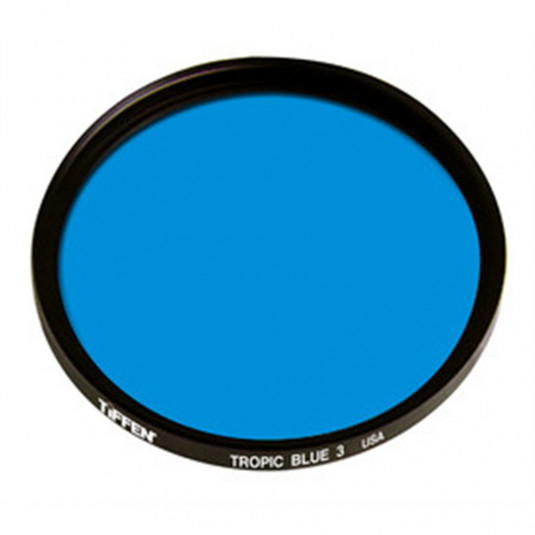 TIFFEN 138TB3 138MM TROPIC BLUE 3 FILTER