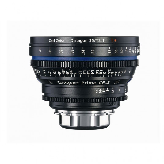 ZEISS 1793-056 Zeiss Compact Prime CP.2 35mm T2.1 T* PL Mount (Metric)
