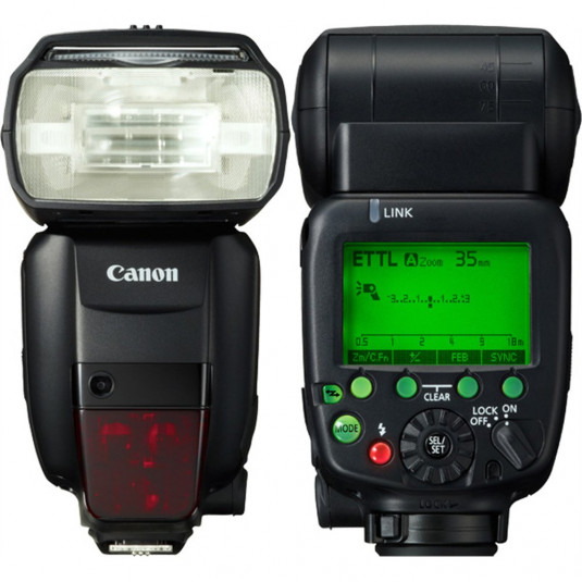 CANON CONSUMER SPEEDLITE 600EX-RT Speedlite 600EX-RT , Colour fi
