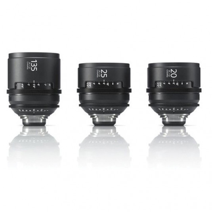 SONY SCL-PK3/F Sony Super35 CineAlta Lens Set ot 3 Cine Primes (PL Mount)