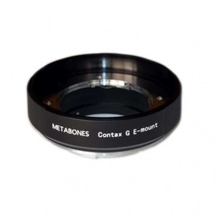 METABONES MB_CG-E-BM1 Metabones Contax G Lens to Sony NEX Adapter