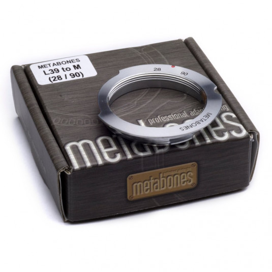 METABONES MB_L39-M-28/90 Metabones L39 Screw Mount to Leica M (28/90) with 6-bit Adapter