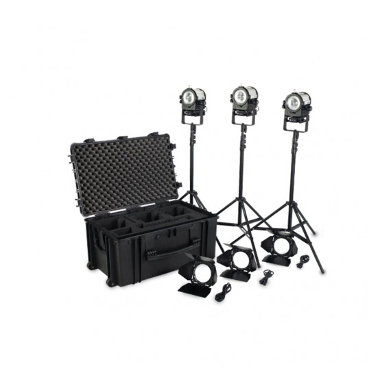 LITE PANELS 906-4030 Complete LED Fresnel lighting
