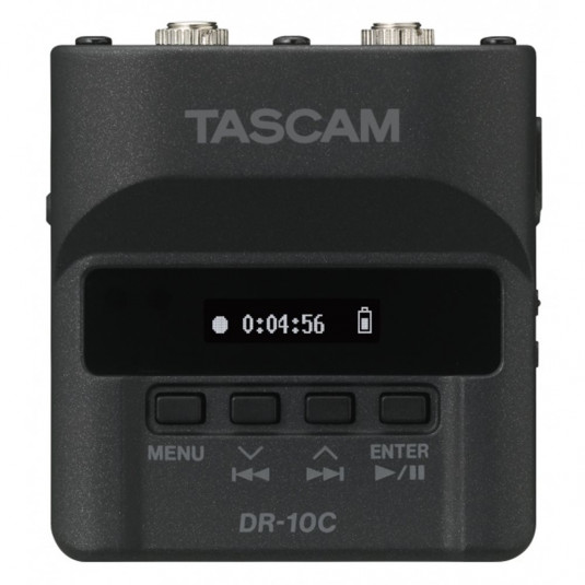 TASCAM DR-10CH Tascam DR-10CH Digital Audio Recorder, Mic-Plug-On for SHURE System Connect