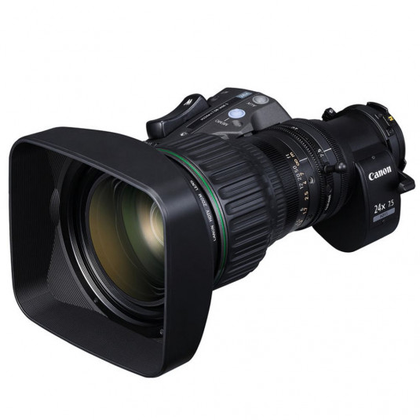 CANON HJ24EX7.5B IASE Canon HJ24ex7.6B IRSE A/IASE ENG Broadcast Lens