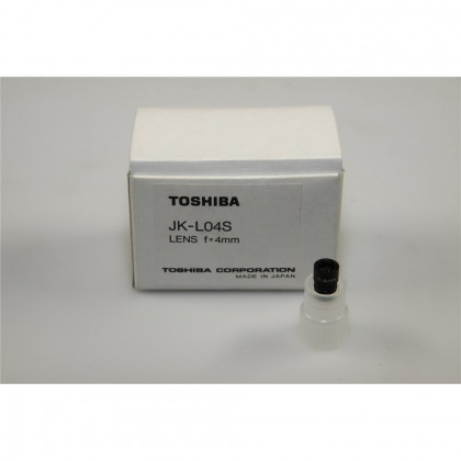 """TOSHIBA JK-L04S 1/4"""" (4mm, f2.4) Micro Lens - for M"""