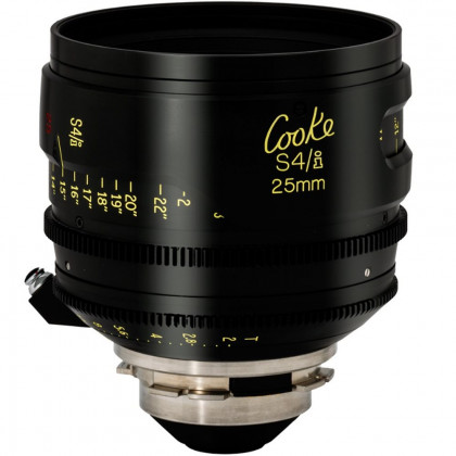 COOKEOPTICS S4I 25MM LENS Cooke 25mm S4/i T2 PL Mount Cine Lens