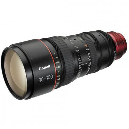 CANON CN-E 30-300MM T2.95-3.7 L SP Canon CN-E 30-300mm T2.95-3.7 L SP PL Mount Cine Zoom Lens