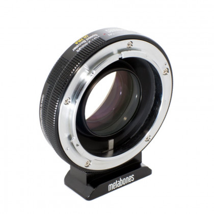 METABONES MB_SPFD-X-BM2 Metabones Canon FD to X-mount Speed Booster ULTRA (Black Matt)