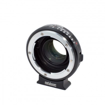 METABONES MB_SPNFG-BMPCC-BM1 Metabones Nikon G to BMPCC Speed Booster (Black Matt)