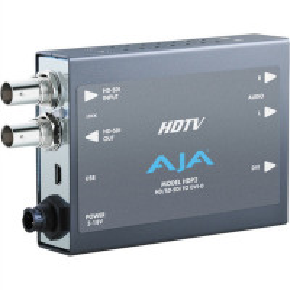 AJA HDP2 HD/SD SDI to DVI, high-quality
