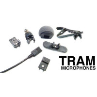 TRAM 101-017 Tram TR50B Black Microphone Only (Pig Tail) No Accessories