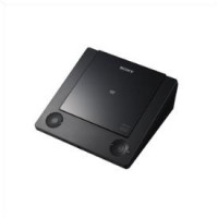 Compact design DVD Player with flip