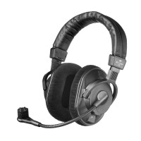 Headset, with condenser microphone