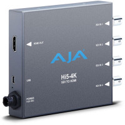 AJA HI5-4K Hi5-4K 4K SDI to HDMI Converter