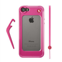 MANFROTTO MCKLYP5S-P PINK BUMPER FOR iPHONE 5/5S
