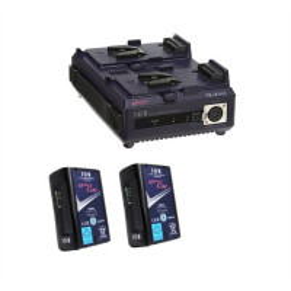 IDX EC-150/2 2 x ENDURA CUE-150 Batteries,