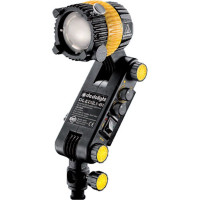 Focusing LED light head, integrated ballast, bicolor with Hot Shoe mount