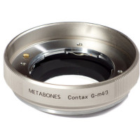 METABONES MB_CG-M43-GD2 Contax G Mount Lens to Micro Four Thirds (Gold)