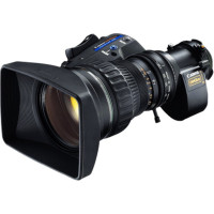 CANON HJ22EX7.6B ITS-ME HD Tele zoom Telecon lens w/2x