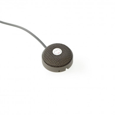 Miniature Boundary Microphone Pigtail - Grey