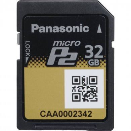 Panasonic MicroP2 32GB Card AJ-P2M032AG