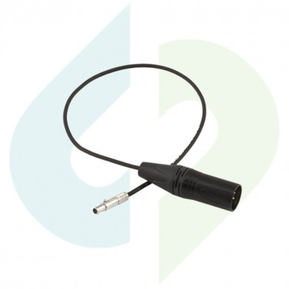 Odyssey7Q/7Q+ XLR Power Cable: 4-Pin Male XLR 12v
