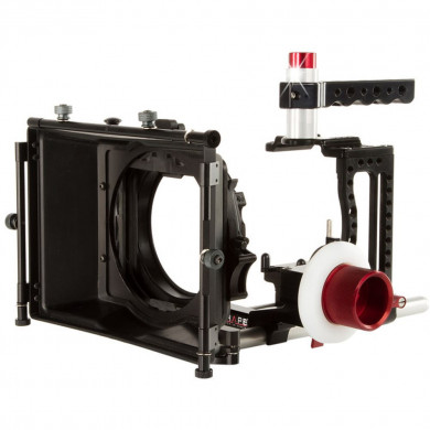 SHAPE XC10KIT XC10 Camera Cage, Mattebox, and Follow Focus Kit