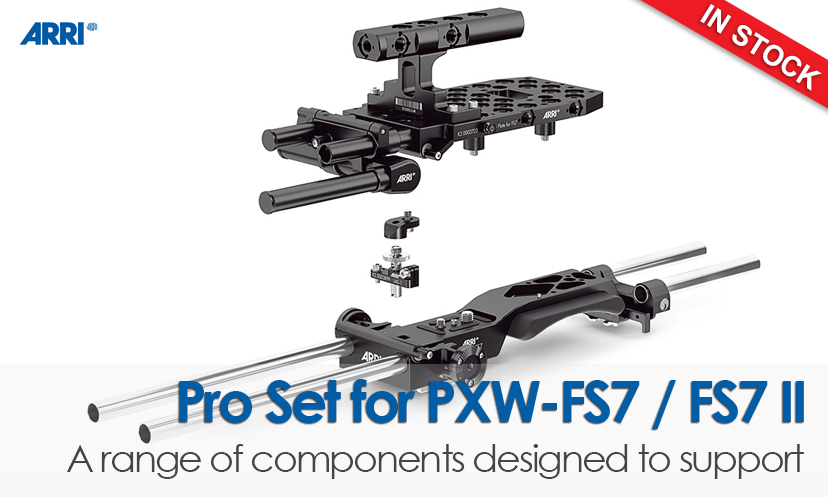 Pro Set of Sony PXW-FS7/FS7 II
