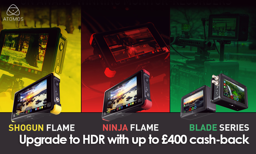Atomos cash-back promotion