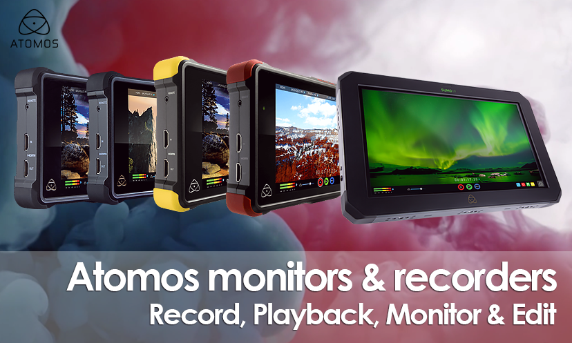 Atomos Monitors For Professional Video
