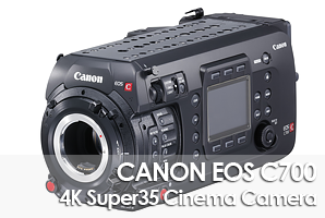 Canon EOS C700 4K Cinema Camera (EF Mount)