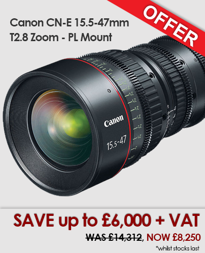 Canon CN-E15.5-47mm PL Mount