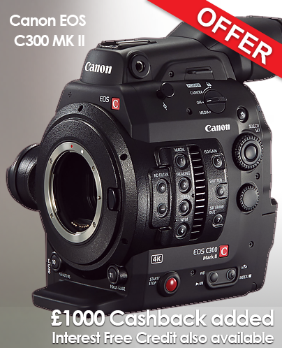 Canon C300 Mark II (EF Mount)