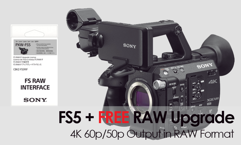 pxw-fs5 + raw upgrade