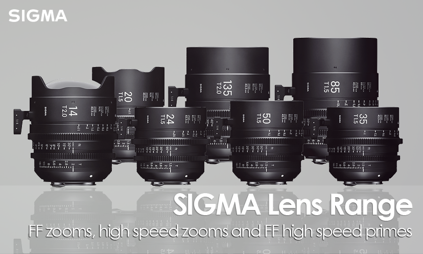 Sigma Camera Cine Lenses
