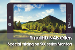 SmallHD NAB Special Offers