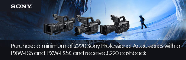 Sony Camcorder Accessory Promotion