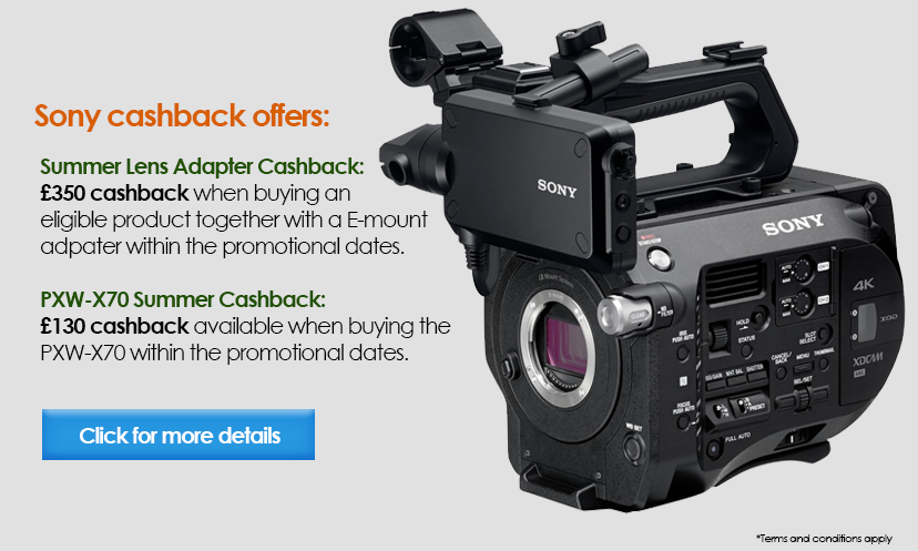 Sony Summer Cashback Promotions