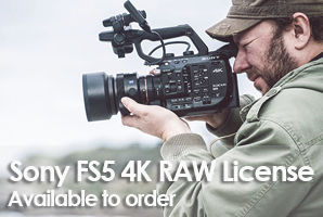 4K RAW License for Sony PXW-FS5 RAW Output