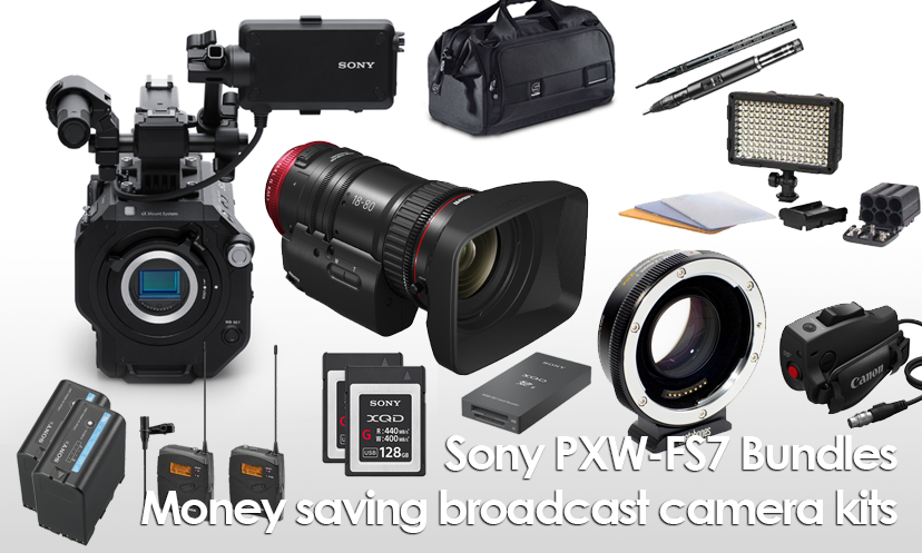 PXW-FS7 Shooting Kits
