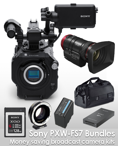 Sony FS7 Packages